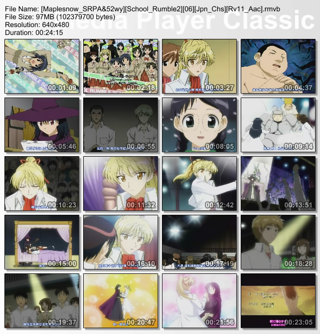 [Maplesnow_SRPA&52wy][School_Rumble2][06][Jpn_Chs][Rv11_Aac]