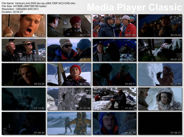 vertical limit thumbs