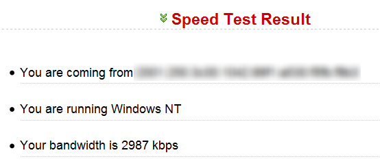 ipv6-speed-test