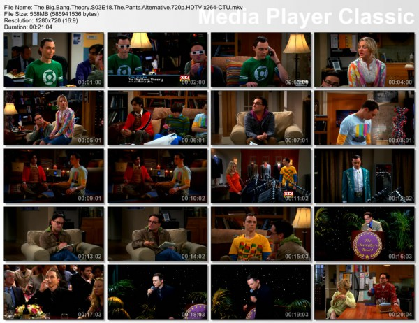 The Big Bang Theory s03e18